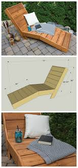 Wood Projects DIY Outdoor Chaise Lounge FREE PLANS At Buildsomething