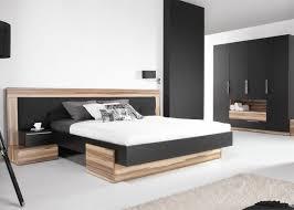 bett kleiderschrank schwarz schlafzimmermöbel design