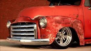 100 Orange Truck Shop TREX Teaser 1951 Slammed GMC Patina Picukp HAMB YouTube