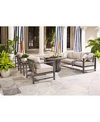 Aruba Grey Outdoor Seating Collection With SunbrellaR Cushions Created For Macys