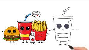 Drawing Cute Drawings Food Fun2draw To her With Cute Drawings Food And Animals With
