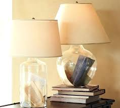 Small Fillable Glass Table Lamp by Fillable Table Lamps Table Lamp Small Fillable Glass Table Lamp