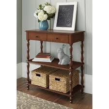 Walmart Larkin Sofa Table by Bowery Hill Drop Leaf Console Table In Terrace Gray And Washed