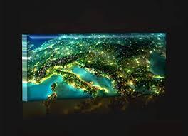 led bild bilder fertig gerahmt kunstdruck auf wandbild leuchtendes led bild led wandbild model 42n 90x30 cm