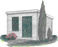 free slant roof shed plans woodwork city someday projects
