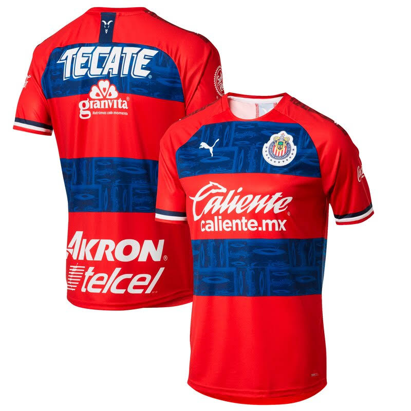 Puma Chivas Red 2019/20 Away Replica Jersey Size: Medium