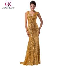 gold formal gowns promotion shop for promotional gold formal gowns