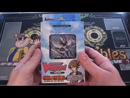 cardfight vanguard trial deck 14 seeker of hope opening youtube