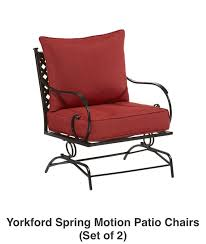 Patio Conversation Set Covers by Shop The Yorkford Patio Collection On Lowes Com