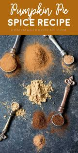 Pumpkin Spice Baileys Recipe by Pumpkin Pie Spice Recipe Homemade Hooplah