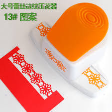 Free Shipping Of New Design Embossing Border Craft Punch Edge DIY Punches For Scrapbook Handmade And Paper Card Cutter In Hole From Office