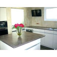 beton ciré cuisine beton cire pour credence cuisine cracdence et plan de travail de