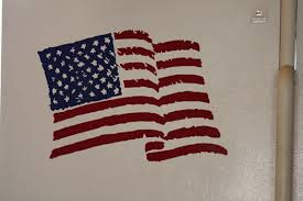 Stupendous American Flag Wall Decor Decoration Harrisburg Pa Outdoor Iron Rustic Distressed