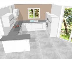 idee plan cuisine cuisine en u plan meilleur idées de conception de maison