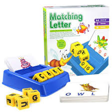 Amazoncom COLOOM Matching Letter Game Educational Spelling Puzzle