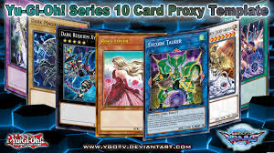 Yugioh Pendulum Deck Link Format by Yugioh Series 10 Card Proxy Template Dx Version By Ygotv On