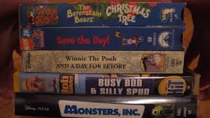 Berenstain Bears Christmas Tree Book by Vhs Collecting Ep 12 Dora Winnie Bob Berenstain Bears Youtube