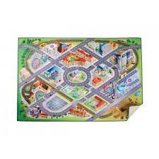 tapis de jeux voitures tapis de jeu métropole pour enfants avec routes maisons