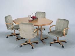 Chromcraft Dining Room Chairs by Kitchen Chairs Heedful On Wheels Chromcraft With Intended For