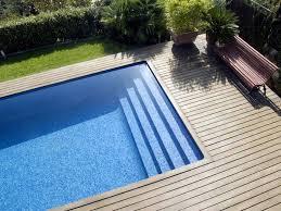 margelle piscine en bois configurateur de piscines unibéo piscines montpellier hérault