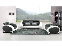 canapé noir et blanc design noir et blanc