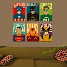 Superhero Bedroom Decor Uk by Wall Ideas Superhero Wall Art Superhero Wall Art Hobby Lobby