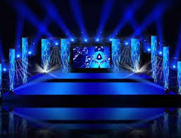 LED Strips Centre Stage Floor And Lighting