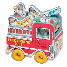 Mini Wheels: Mini Fire Engine (Mini Wheel Books): Peter Lippman ...