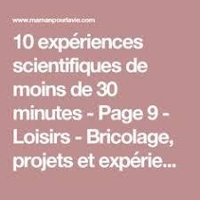 147 expériences à faire à la maison facilement expériences à