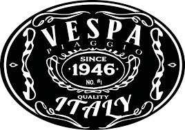 Jack Daniels Themed Vespa Sticker By Verstegen
