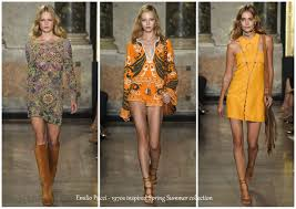 1 Emilio Pucci 1970s Inspired Spring Summer