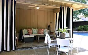 Vinyl Patio Curtains Outdoor by Porch Terrific Porch With Curtains Ideas Porch Curtains Roll Up