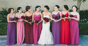 Top 10 Colors For Fall Bridesmaid Dresses 2015