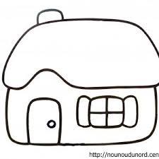 dessins coloriage maison imprimer dessin avec escalier voir le