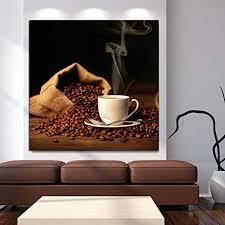 dfebv abstrakt leinwand wandkunst kaffeebohnen panorama
