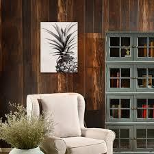 ungerahmt schwarz weiß ananas leinwand malerei wohnzimmer