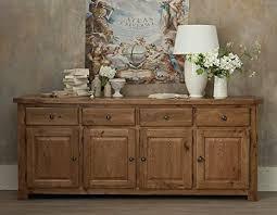 sussex eiche rustikal esszimmer möbel großen 4 tür sideboard
