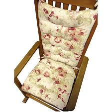 Chablis Rose Rocking Chair Cushions - Latex Foam Fill, Reversible ... Rocking Chair Cushion Sets And More Clearance Pillows Levo Baby Rocker In Beech Wood With Hibiscus Flower Patio Fniture Cushions At Lowescom Chablis Rose Latex Foam Fill Reversible Surprising Pad Set For Your Home Design Ideas Interesting Glider Elegant Armchair Decor Awesome Comfortable Add Comfort Style To Favorite Amazoncom Barnett Child Seat And Indoor Cracker Barrel