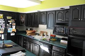 Black Distressed Painted Kitchen Cabinets Zach Hooper When