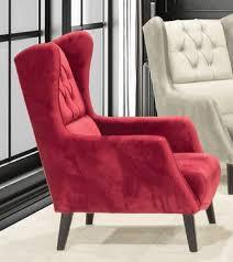 casa padrino chesterfield ohrensessel rot schwarz 80 x 80 x h 90 cm moderner wohnzimmer sessel chesterfield wohnzimmer möbel