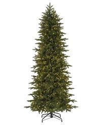 75 Flocked Slim Christmas Tree by Christmas Christmas Oss T Flocked Artificial Trees At Walmart