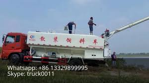 100 Feed Truck China Made Bulk Feed Truck For Fish Plant Whatsapp 86 13329899995