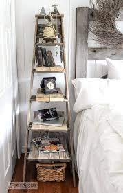 Rustic Farmhouse Decor Style Ideas Ladder For Furniture Paint