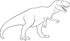 Dinosaurs Coloring Pages Kids