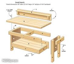 woodworking workbench plans rack