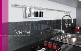 credence verre cuisine crédence verre lapeyre coloris blanc alpin disponible cuisine