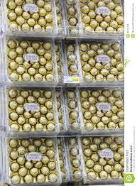 Ferrero Rocher Christmas Tree Box by Ferrero Rocher Editorial Stock Image Image 35214439