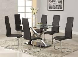 modern dining rooms sets impressive modern dining room table set