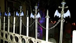Halloween Cemetery Fence Ideas by Static Easy Cemetery Fence Finial Topper Idea Bat Stakes From