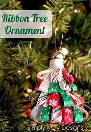 This handmade ribbon ornament is a simple DIY craft that will bring
